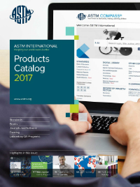 astm products catalog 2017